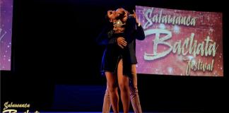 Ataca y La Alemana show al Salamanca Bachata Festival 2018