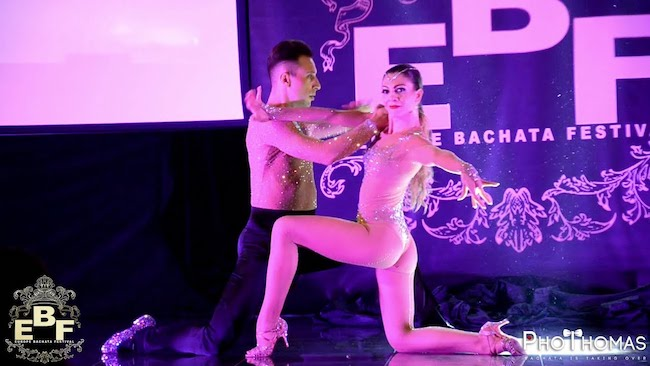 Riccardo & Silvia show a Europe Bachata Festival 2018
