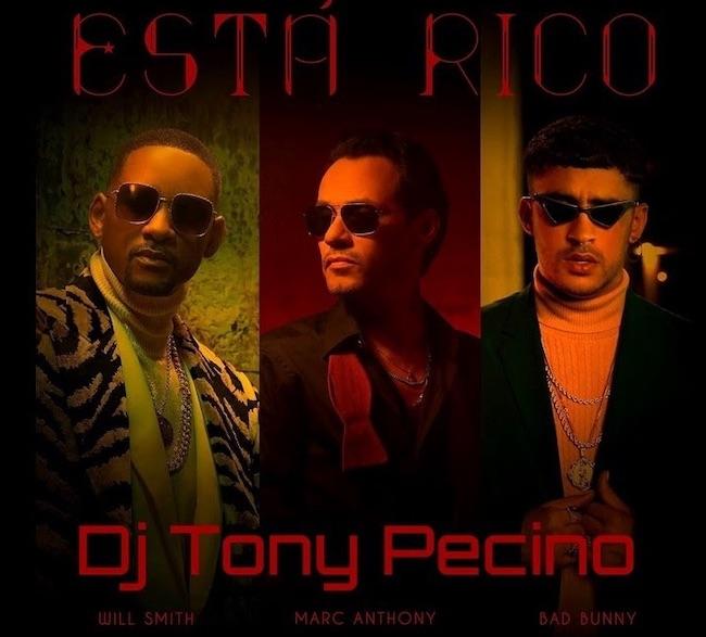 Marc Anthony, Will Smith, Bad Bunny - Está Rico (Dj Tony Pecino bachata remix)