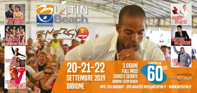 latin beach bibione 2019