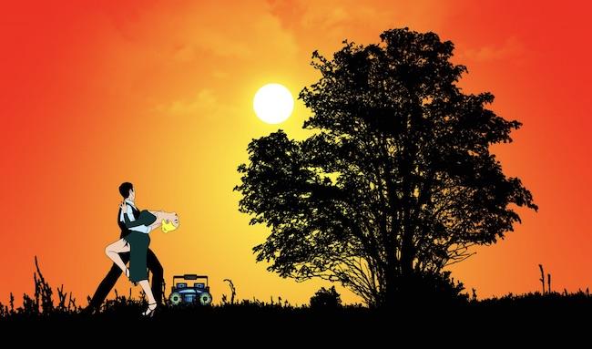 ballo bachata tramonto