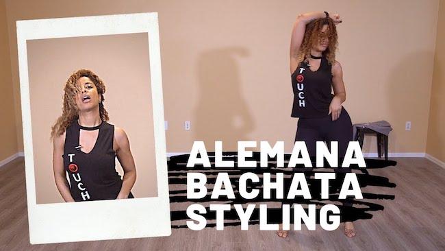 la alemana ladies bachata style