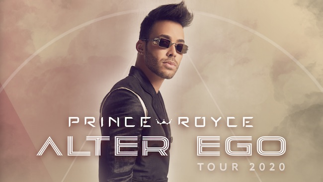 prince royce alter ego tour 2020