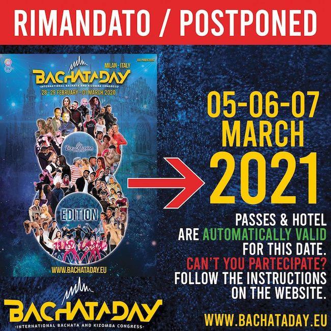 rimandato bachataday 2020