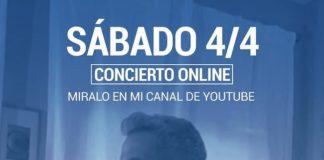daniel santacruz concerto 4 aprile 2020