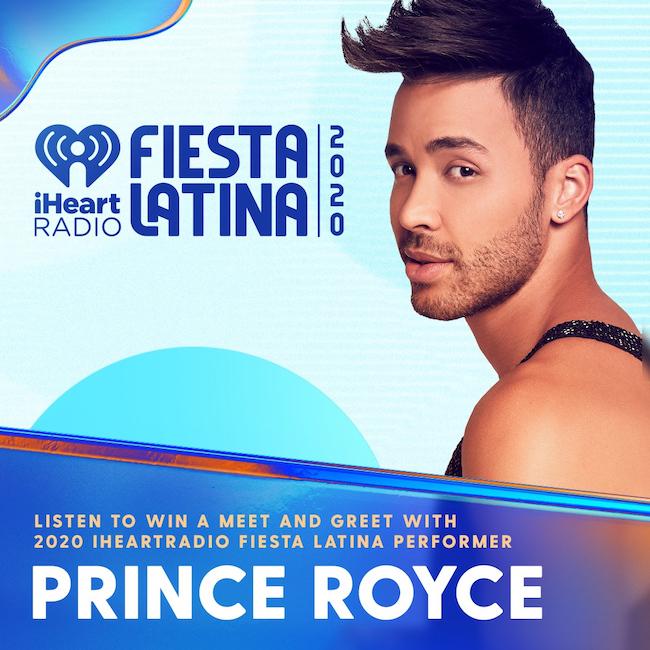 Concerto di Prince Royce a iHeartRadio Fiesta Latina 2020